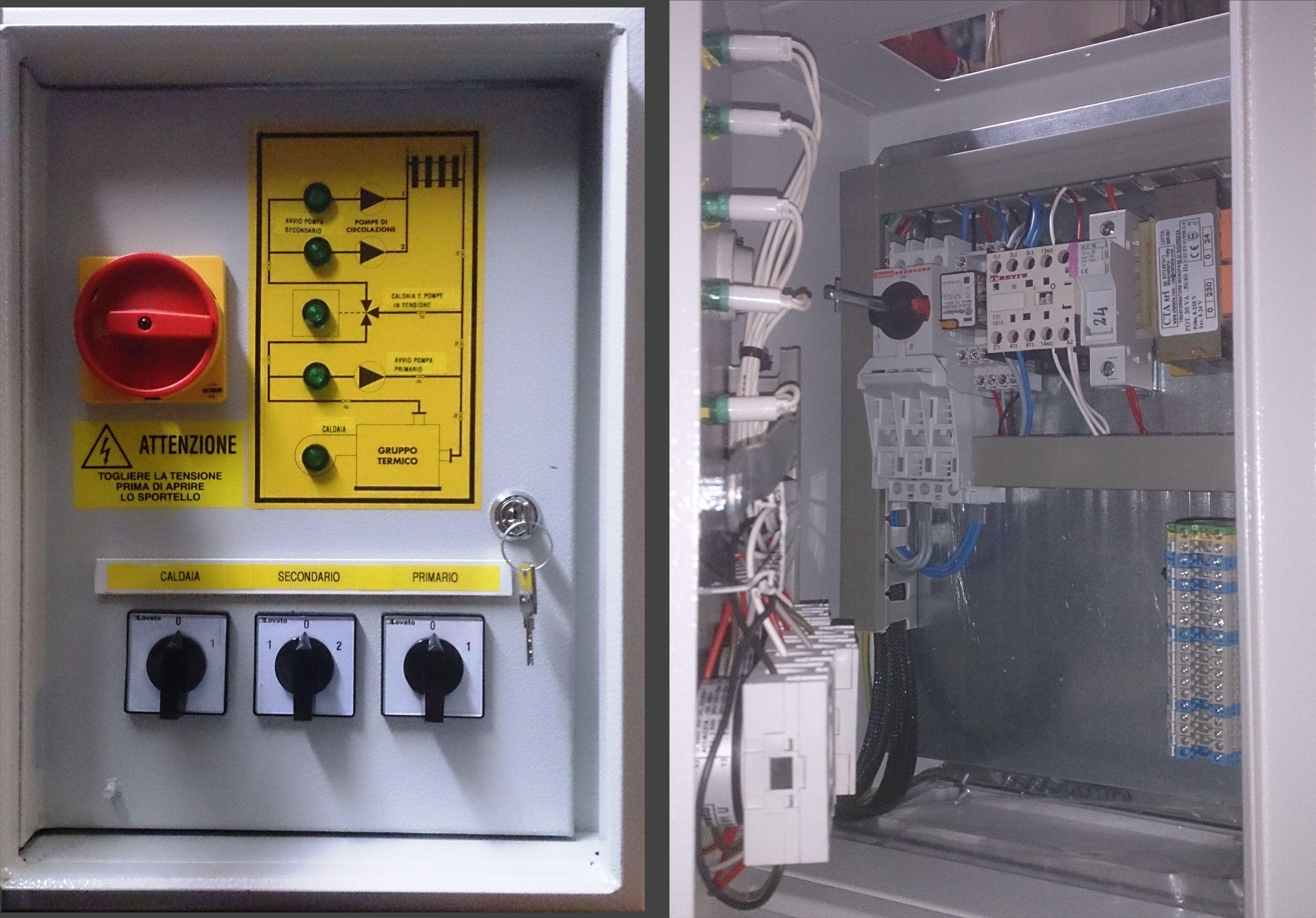 Schemi Quadri Elettrici Per Pompe Sommerse : Schemi quadri elettrici per pompe sommerse